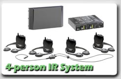 4 IR receivers pack